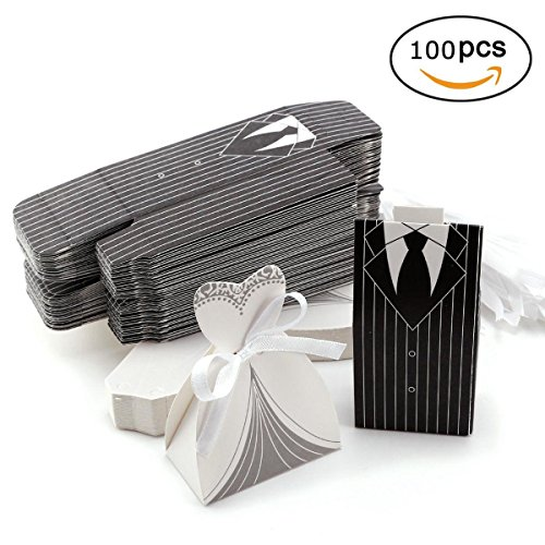 Wedding Drawstring Gift Bags for Jewelry Candy Favor Small Gift Pouch 100pcs by In kds