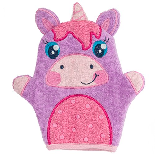 Stephen Joseph Bath Mitts, Unicorn