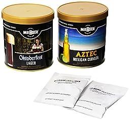 Mr. Beer International Series Home Brewing Beer Refill 2 Pack