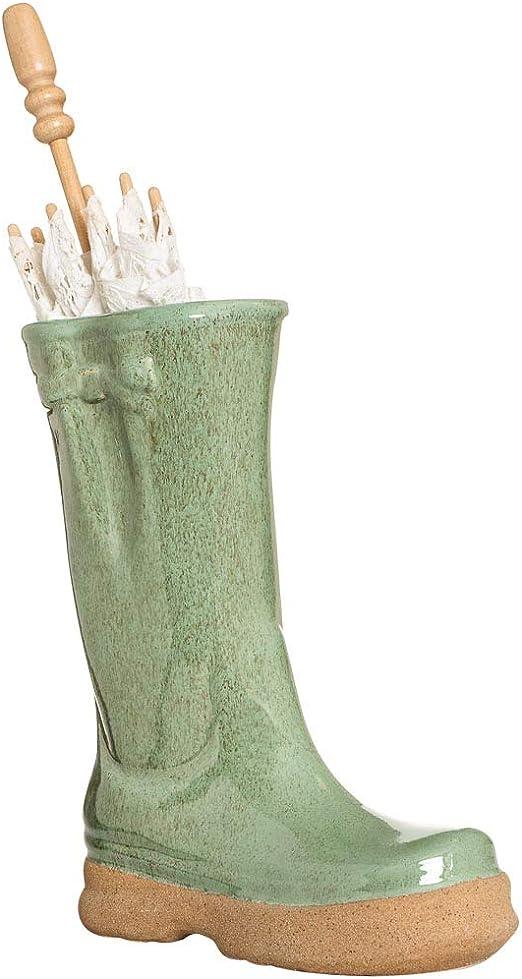 Portaombrelli A Forma Di Stivale.Dibor Portaombrelli In Ceramica A Forma Di Stivale Amazon It Giardino E Giardinaggio