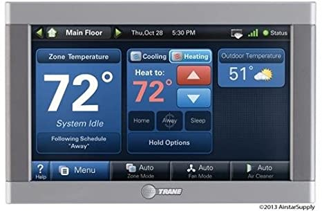trane wi fi thermostat comfortlink ii xl950 cnt06390 cnt 6390 rh amazon com Trane ComfortLink Communication Trane ComfortLink Communication