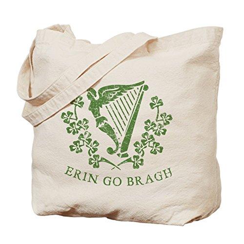 CafePress–Erin Go BRAUGH–Gamuza de bolsa de lona bolsa, bolsa de la compra
