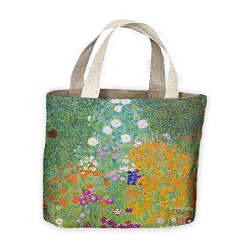 Garden Shopping Gustav Tote Gustav Klimt Bag Klimt Flower For Life IaSRxq