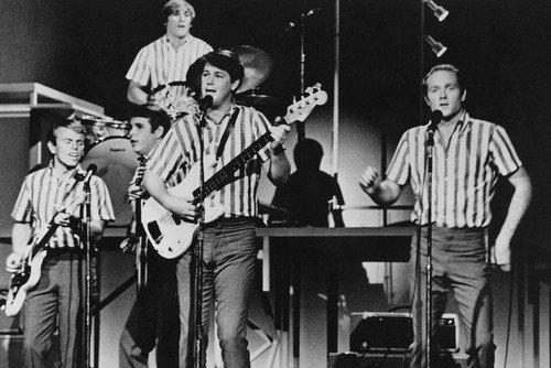 The Beach Boys 24x36 Poster full length in concert 1960's