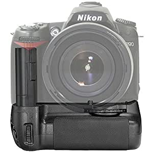 Neewer Replacement MB-D80 Battery Hand Grip for Nikon D80 D90 SLR Camera Compatible with AA Battery or EN-EL3e£.. Battery Not Included £