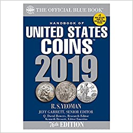 HARD BACK EDITION ***CLOSEOUT*** 2019 OFFICIAL RED BOOK OF UNITED STATES COINS