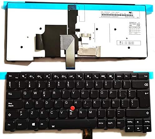 Original Español retroiluminado Teclado para Lenovo ThinkPad L440 L450 L460 L470 T431S T440 T440P T440S T450 T450S e440 e431S T460 01EN508 04Y0824 ...