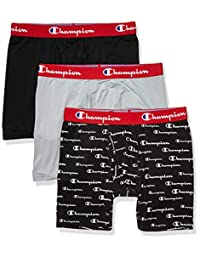 Champion Mens Athletics Everyday Active Boxer Briefs (Pack of 3) Boxer Briefs