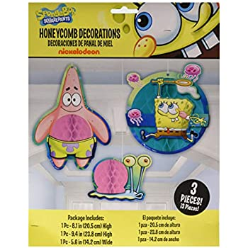 Amazon.com: Nickelodeon Bob Esponja Tabla de fiesta de ...