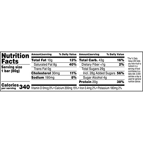 Gatorade Recover Chocolate Caramel Whey Protein Bar, 2.8 Ounce by Gatorade (Image #2)