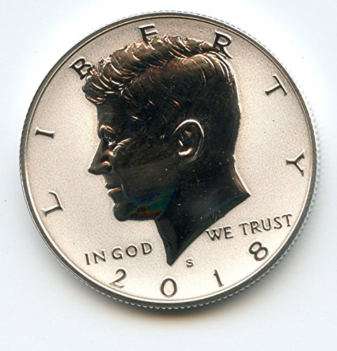 2018 S Kennedy Half Dollar Reverse Proof US Mint -
