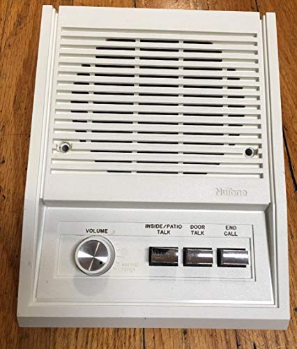 - Nutone IS-305wh inside intercom station
