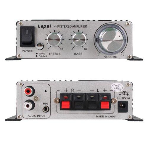 Lepy LP-20 20A Digitaler Verst/ärker HiFi Stereo Audio Auto Wx2 Schwarz