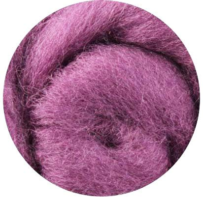Weir Crafts NZ Corriedale Wool Roving for Felting 1 Ounce Lima bean
