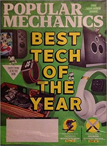 Popular Mechanics December 2017 Best Tech Of The Year Amazon Com Books