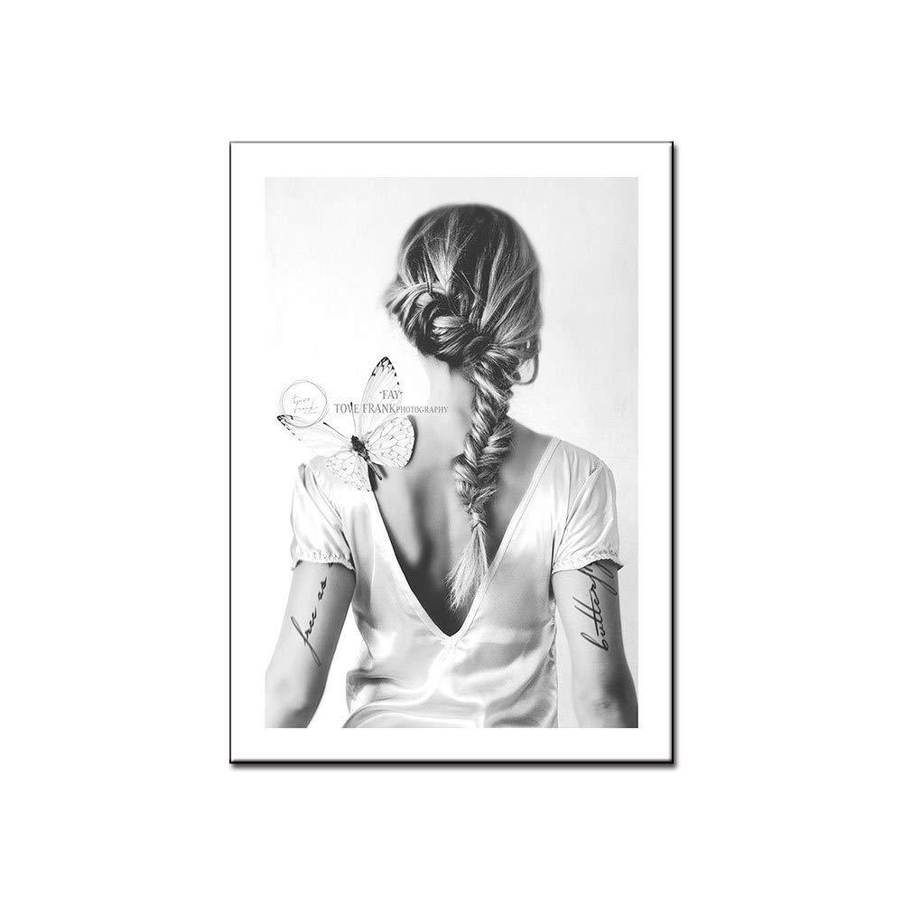 jzxjzx Personajes de fotografía Minimalista en Blanco y Negro ...