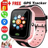Kids Smart Watch -[SIM Card Include] Smart Phone Watch for 3-12 Year Old Boys Girls with GPS Locator...