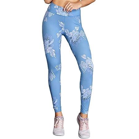 Xhtoe Pantalones de Yoga Moda para Mujer Cintura Alta ...