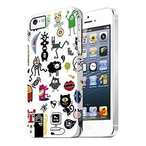 WearEver Chaos 181228 - Carcasa de policarbonato para iPhone 5, diseño abstracto