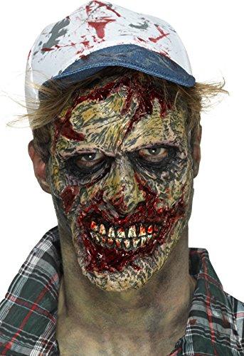 Smiffy's Zombie Face Prosthetic Costume -