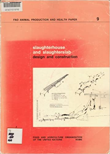 slaughterhouse and slaughterslab design and construction fao animal