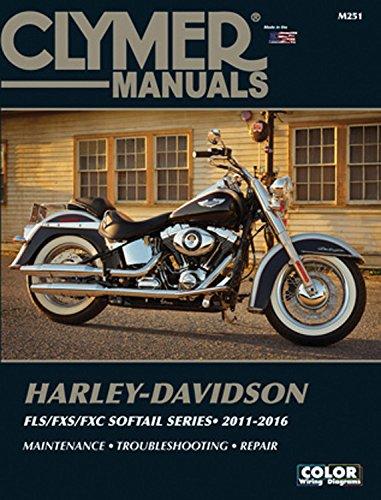 Harley-Davidson FLS/FXS/FXC Softail Series 2011-2016 (Clymer Manuals)
