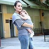 BoJo Baby Sling Carrier, Natural Cotton Nursing
