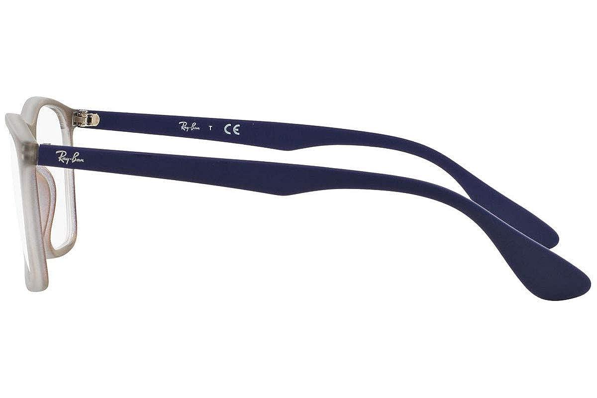 2edac52e9e Amazon.com  Ray-Ban Eyeglasses RX7045 5486 Violet Iridescent 53 18 140   Shoes