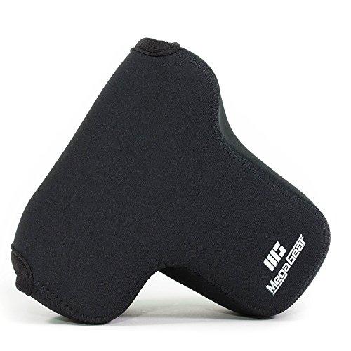 MegaGear Panasonic Lumix DMC-G85, G80, G81, G8 (12-60mm) Ultra Light Neoprene Camera Case - Black