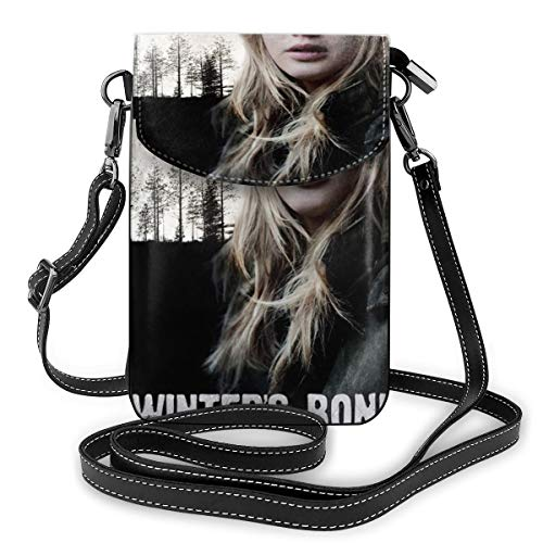 Ikechukwu Black Winter's Bone One Size Mini Backpack Graphic Printed Small Cell Phone Purse