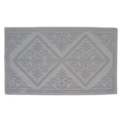 DIFFERNZ 31.102.51 Domus Bath Mat, Grey by Differnz