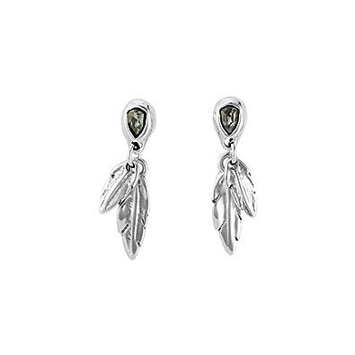 Amazon.com  UNO DE 50 EARRINGS MÍRAME PEN0597GRSMTL0U  Jewelry 2e725f815a