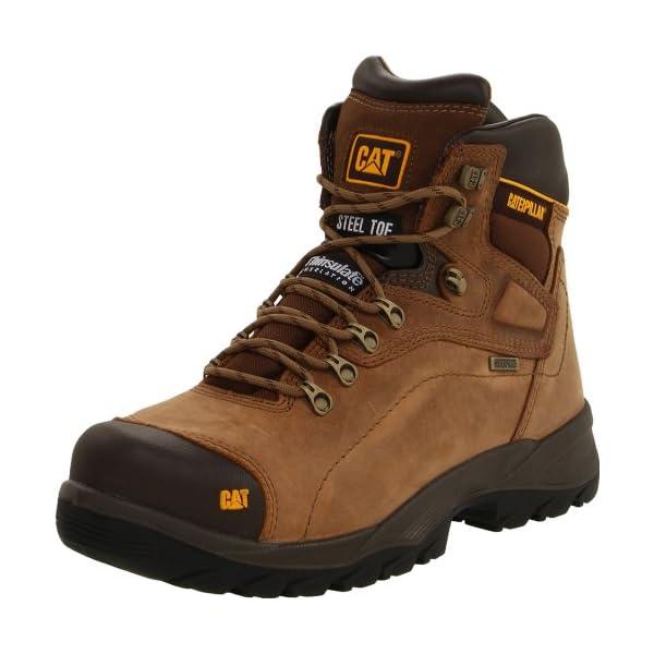 Caterpillar Men's Diagnostic Waterproof Steel-Toe Work Boot 1