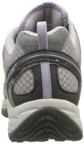 Hi-Tec HALONA WP W O002965 - Zapatillas de montaña de cuero para mujer, color gris, talla 37