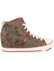 Skechers Daddys Money Gimme Holidayz Womens Wedge High Top Sneakers