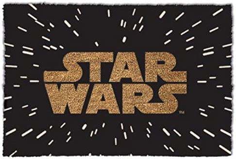 1art1 Star Wars Door Mat Design Floor Mat – Logo 24 x 16 inches