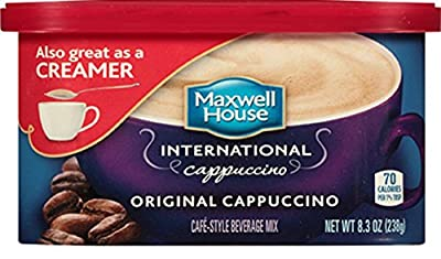 Maxwell House International Original Cappuccino - 8.3 oz Pack of 2
