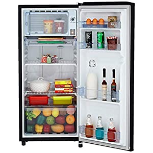 Whirlpool 190 L 3 Star Direct Cool Single Door Refrigerator (WDE 205 CLS 3S, Black)