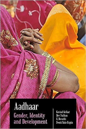 Aadhaar: Gender, Identity and Development