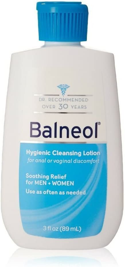 Balneol Hygienic Cleansing Lotion 3 oz (Pack of 12)