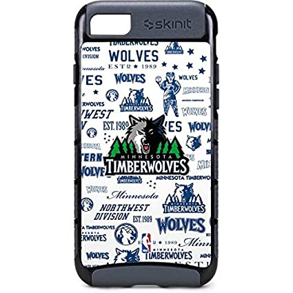 Amazon Com Skinit Nba Minn Timberwolves Iphone 8 Cargo Case
