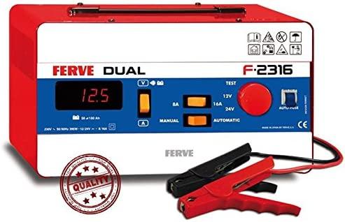 Ferve F2316 - Cargador Bateria Automatico Dual F.2316 ...