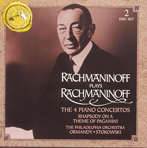 4th Movement Book Music - Rachmaninoff Plays Rachmaninoff: The 4 Piano Concertos
