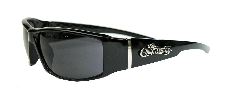CHOPPERS® Sonnenbrille Biker Brille für Herren West Coast Locs FARBWAHL (84 Skull) HcKfaX08