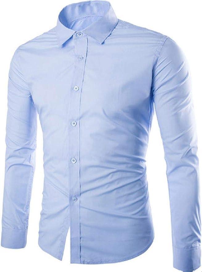 ONTBYB Mens Slim Fit Floral Printed Shirt Button Down Hawaiian Shirt