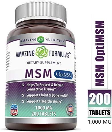 Amazing Formulas OptiMSM Dietary Supplement product image