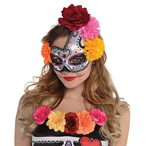Sugar Skull Masks (Sugar Skull Mask Costume Accessory)
