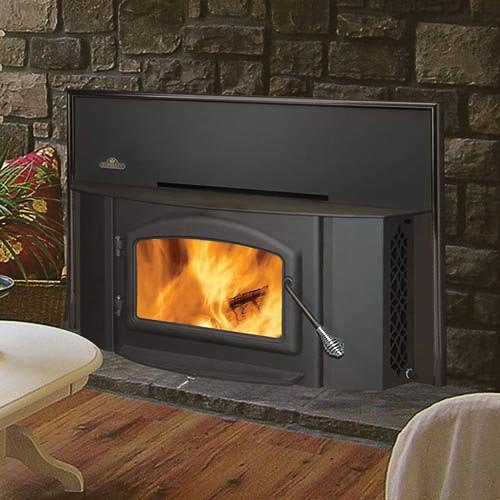 Review Napoleon 1402 Painted Black Wood Burning Fireplace Insert