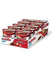 Nutella & GO! Snack Packs, Chocolate Hazelnut Spread with Breadsticks, Perfect Bulk Snacks for Kids, 52 Grams, Pack of 10