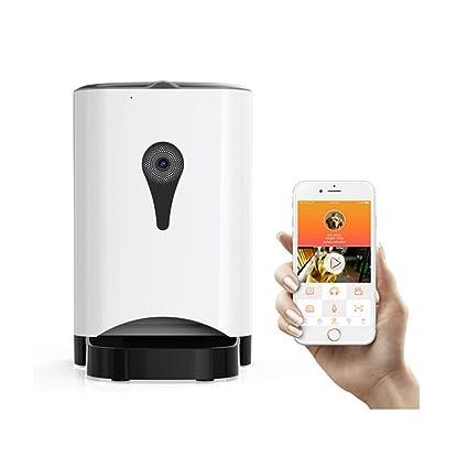 Máquina Automática De Alimentación De Mascotas (Actualización) Control Inteligente De Aplicaciones Cámara De Vigilancia